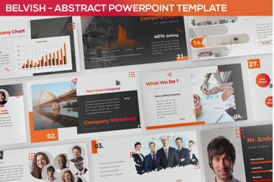 Belvish - Abstract & Modern Powerpoint Template