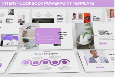 Intery - Lookbook Powerpoint Template