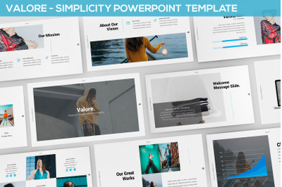 Valore - Simplicity Powerpoint Template