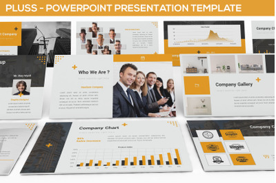 Pluss - Powerpoint Presentation Template