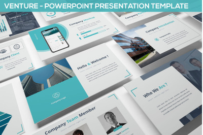 Venture - Powerpoint Presentation Template