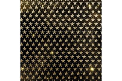 Gold Black Digital Paper