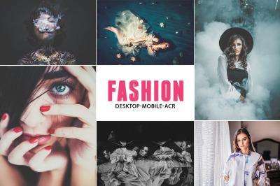 190 Pro Fashion Collection Lightroom Preset