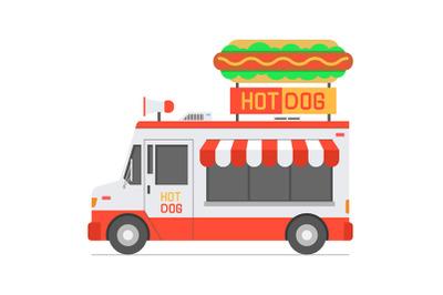 Hot Dog Food Truck