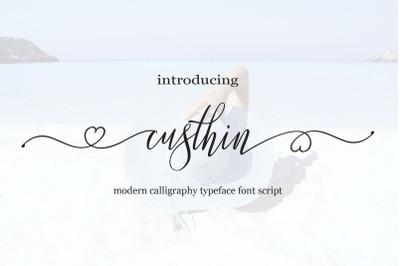Custhin Script