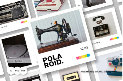 Polaroid Social Media Pack