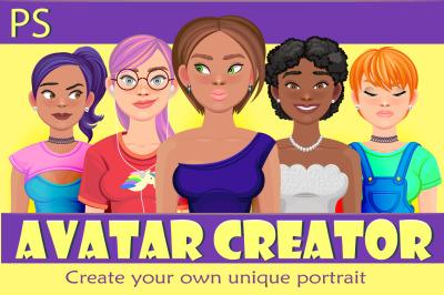 girl avatar creator (PS)