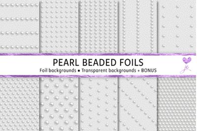 Pearl Beaded Foils