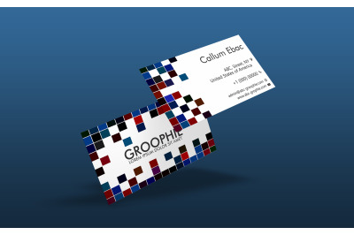 Business Card Mockup - Double Sided