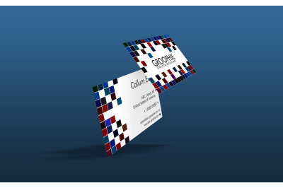 Visiting Card Mockup - Latest