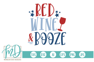 Red Wine and Booze SVG