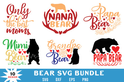 Bear Svg Bundle