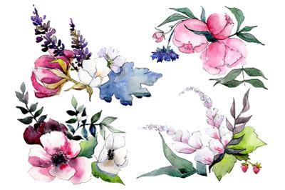 Bouquet Mrs. watercolor png