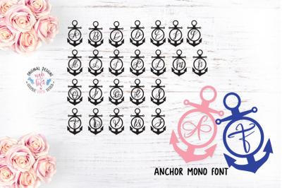 Anchor Mono Display Font