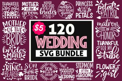 Wedding Svg Mega Bundle