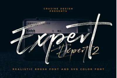 Expert Brush & SVG Font