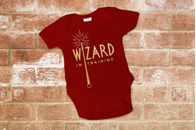 Wizard and Witch in Training Duo | SVG | PNG | DXF