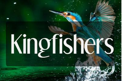 Kingfishers Font