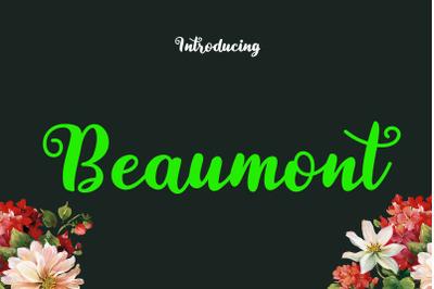 Beaumont Font