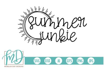 Summer Junkie SVG