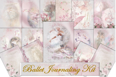 Ballet Journaling or Scrapbook backgrounds COmmercial Use
