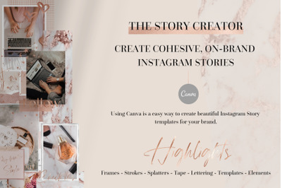THE STORY CREATOR - Instagram Stories