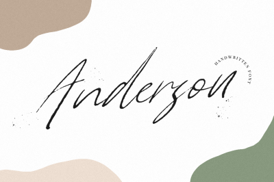 Anderson INTRO OFFER 30%