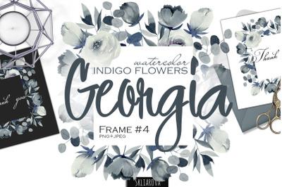 Georgia. Indigo Frame #4