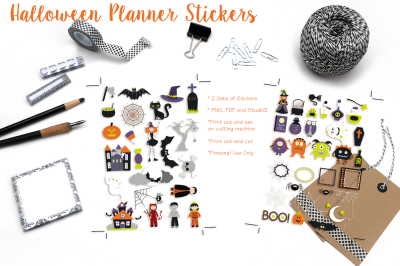 Halloween Printable Stickers