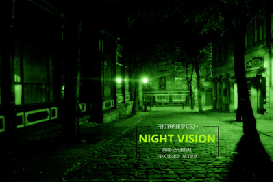 Night Vision Photoshop Action