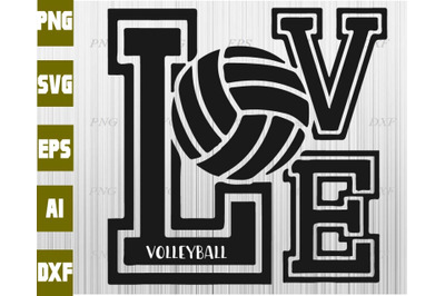 Volleyball On All Category Thehungryjpeg Com