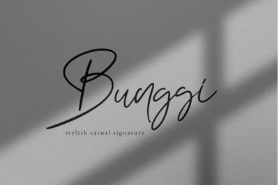 Bunggi Signature