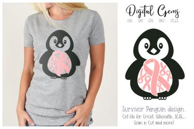 Penguin breast cancer survivor design