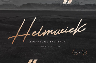 Helmwick - Signature Script