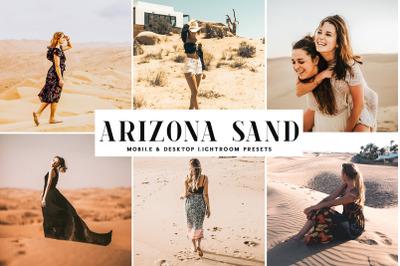 Arizona Sand Mobile & Desktop Lightroom Presets