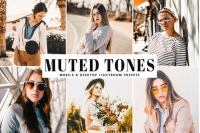 Muted Tones Mobile & Desktop Lightroom Presets