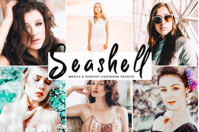 Seashell Mobile & Desktop Lightroom Presets