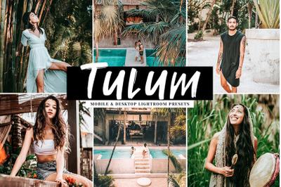 Tulum Mobile & Desktop Lightroom Presets