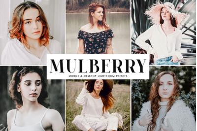 Mulberry Mobile & Desktop Lightroom Presets