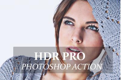 HDR PRO - Photoshop Action
