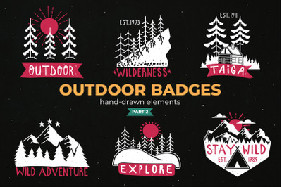 Outdoor Logo Badges, Part II