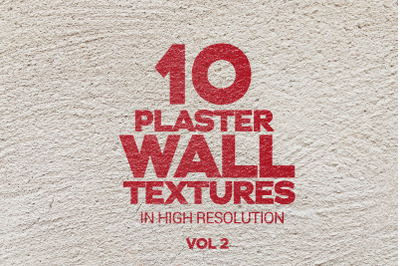 Plaster Wall Textures Vol 2 x10