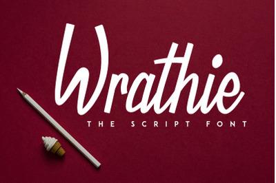 Wrathie - Script Font