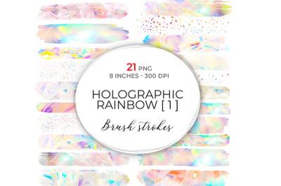 Large Holographic Brush Strokes 1