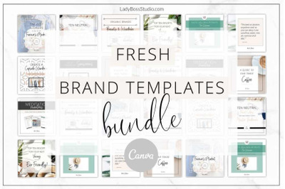 Canva Fresh Branding Bundle