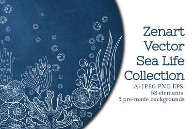 Zenart Vector Sea Life Collection