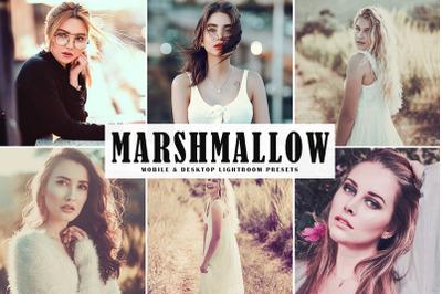 Marshmallow Mobile & Desktop Lightroom Presets