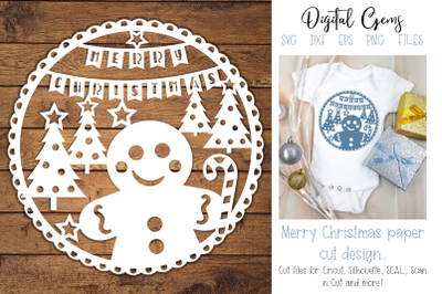 Christmas, Gingerbread man design
