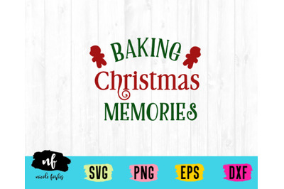 Christmas Baking SVG Cut File