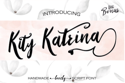 Kity Katrina Script Font